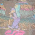Mark's chalk mural GC